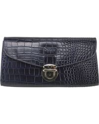 Osprey London - Melody Leather Clutch Bag - Lyst