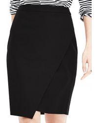 Banana Republic | Sloan-fit Crossover Pencil Skirt | Lyst