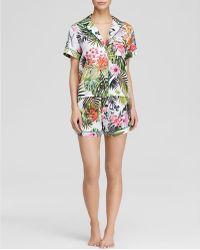 Clover Canyon - Botanical Spring Short Pajama Set - Bloomingdale's Exclusive - Lyst