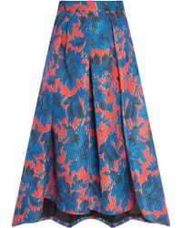 Paul & Joe Couture Printed Skirt - Lyst