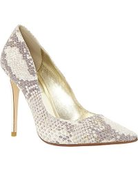 Dune Brooks Pointed Toe Court Shoes - For Women - Lyst