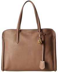 Alexander McQueen Padlock Zip Around - Lyst