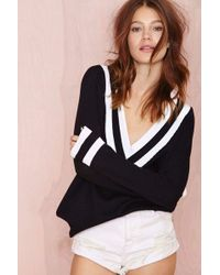 Nasty Gal Boys Club Sweater Navy - Lyst