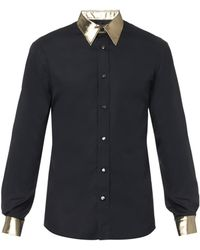 Alexander McQueen Black Evening Shirt - Lyst