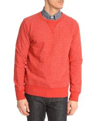 Hartford Classic Red Marl Sweater - Lyst