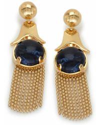 Lele Sadoughi Gazebo Chandelier Earrings, Iris Blue - Lyst