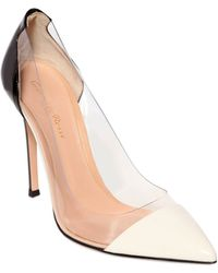 Gianvito Rossi 100Mm Two Tone Patent Leather Pumps - Lyst