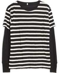 R13 | Double Stripe Thermal | Lyst