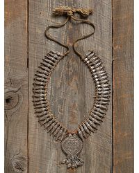 Free People Vintage Decorative Necklace - Lyst