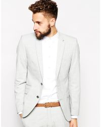 Selected Suit Jacket - Lyst