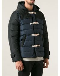 Andrea Pompilio - Padded Duffle Coat - Lyst