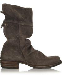 Fiorentini + Baker Ella Eternity Nubuck Boots - Lyst