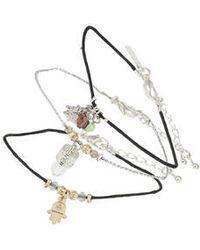 Topshop Fatima Hand Bracelet Pack - Lyst