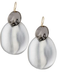Alexis Bittar Liquid Chip Wire Lucite Earrings - Lyst