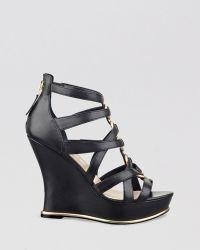 Guess - Platform Wedge Sandals - Barran - Lyst
