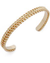 DANNIJO Abel Bracelet - Gold - Lyst