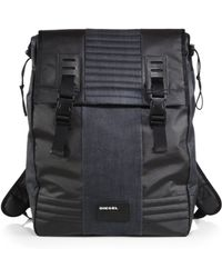 Diesel Bking Denim Backpack - Lyst