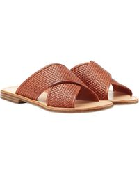 Ludwig Reiter Leather Sandals - Lyst