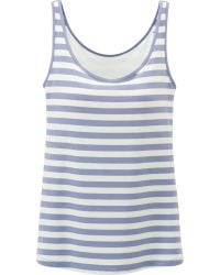 Uniqlo Women Airism Bra Sleeveless Top Stripe - Lyst