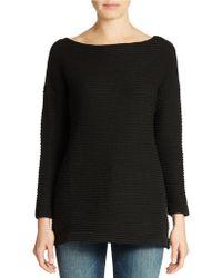 Calvin Klein Jeans Textured Stitch Pullover - Lyst