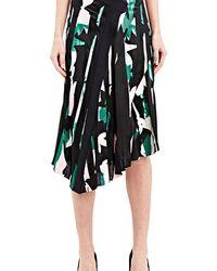 Capara - Silk Printed Skirt 10 - Lyst