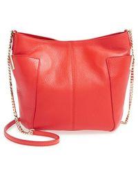 Jimmy Choo 'Small Anabel' Leather Crossbody Bag - Lyst