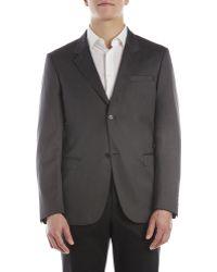 Calvin Klein Delano Sport Coat gray - Lyst