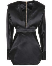 Balmain Wool And Silk-Blend Dress - Lyst