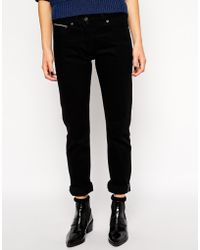YMC Jeans With Turn Up - Lyst