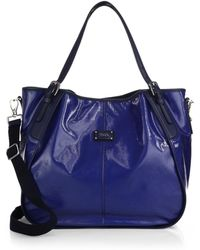 Tod's G-Line New Coated-Canvas Sacca Media Tote - Lyst