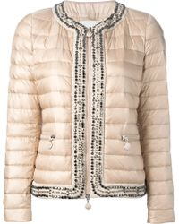 Moncler Embellished Padded Jacket - Lyst