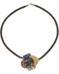 Peppercotton - Mesh Link Necklace - Lyst
