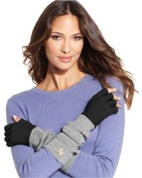 Vince Camuto - Fine Gauge X-Long Fingerless Gloves - Lyst