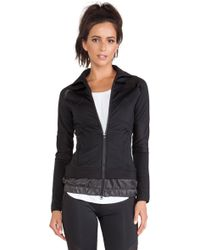 Adidas By Stella Mccartney Perforated Mid Layer Jacket - Lyst