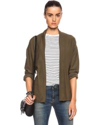 Citizens of Humanity Kylar Top brown - Lyst