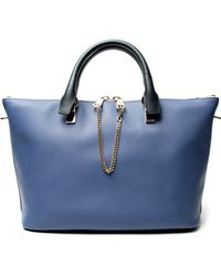 Chloé Baylee Medium Tote Bag - Lyst
