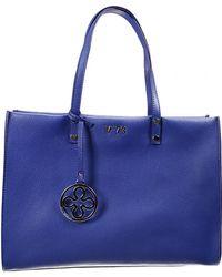 V73 Handbag New Venezia Leather Shopping Bag - Lyst
