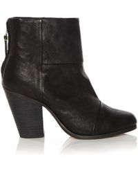 Rag & Bone Classic Soft Leather Newbury - Lyst