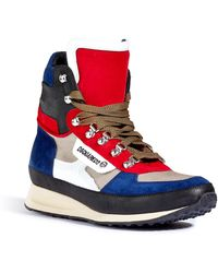 DSquared2 Suedeleather Hightop Sneakers - Lyst