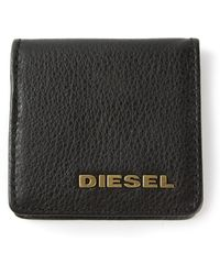 Diesel Black Ziggy Wallet - Lyst