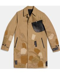COACH   Patchwork Mac Jacket   Lyst