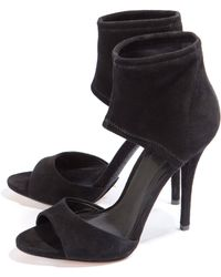 B Brian Atwood Stretch Ankle Peep Toe Pump - Lyst