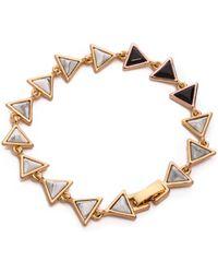 House of Harlow 1960 - Meteora Tennis Bracelet - Lyst