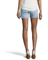 James Jeans Sweet Summer Stretch Denim Colette Cuffed Shorts - Lyst