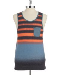 Hurley - Striped Tank - Lyst