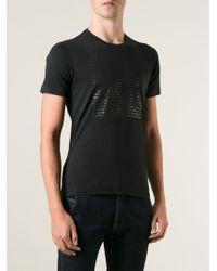 Emporio Armani Printed Logo T-shirt - Lyst