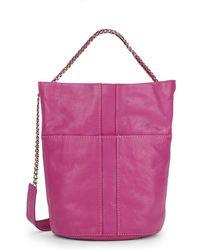 Ramy Brook - Blake Leather Bucket Bag - Lyst