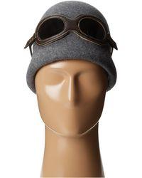 Grace Hats - Aviator Goggle Hat - Lyst