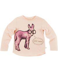 Stella McCartney Pink Barley T-shirt - Lyst