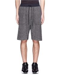 NLST - Bouclé Knit Sweat Shorts - Lyst